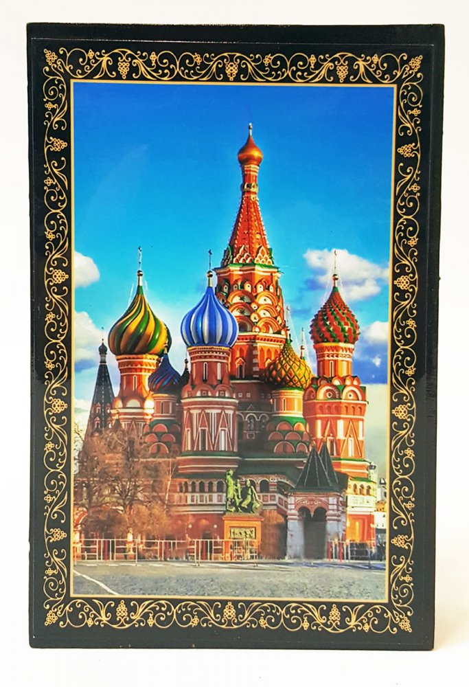 Шкатулка лаковая Москва