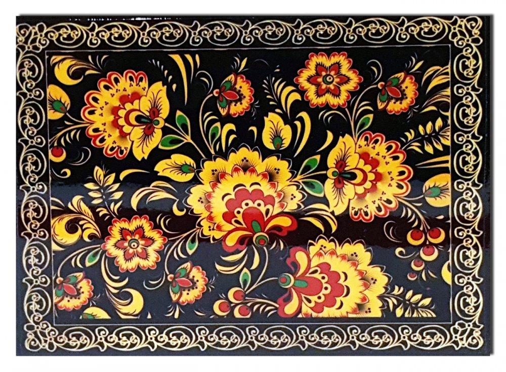 Шкатулка Хохлома (наклейка)