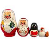 Новый Год и Рождество 5 мест Дед Мороз деш.