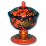 Хохлома сувенирная Креманка