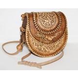 Береста сумочка женская круглая, 17 x...