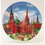 """Тарелка 20-K8-19 фарфор D20 """"Москва,..."""
