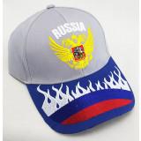 Головной убор Бейсболка вышивка герб России