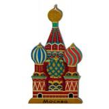 Магнит СВБ1 - 4 купола деревянный
