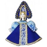 Кукла малая синеголубой наряд, аф46,...