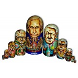Матрешка 10 мест Путин