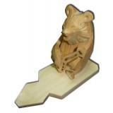 Богородская игрушка Мишка с балалайкой