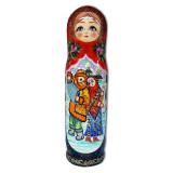 Матрешка Футляр для бутылки Зимний...