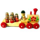 Игрушка деревянная паровоз