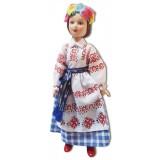 Кукла фарфоровая Белорусский наряд,...
