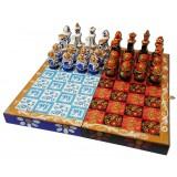 Шахматы матрешки гжель и хохлома