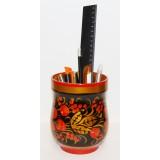 Хохлома сувенирная карандашница