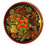 Хохлома пищевая Тарелка-панно 210х21