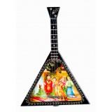 Музыкальный инструмент балалайка Царь...
