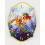 Часы настенные, два ангелочка