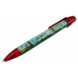 Ручка 464-17-R сувенирная Москва Панорама, красная