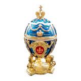 """Копия Фаберже WS-JB80251K2 Яйцо пасхальное """"Со львами и с короной""""..."""