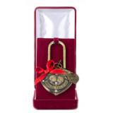 Подарок с гравировкой Свадебные замки...