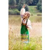 Русский народный костюм ФАРТУКИ , 115 см