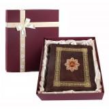 Подарок с гравировкой Фотоальбомы 0110601015/1, Фотоальбом кожаный...