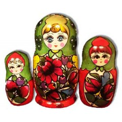 Матрешка Майдан майд. 3 места
