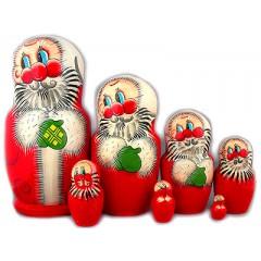 Матрешка 7 мест Дед Мороз