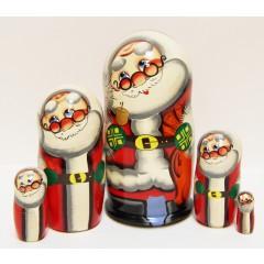 Новый Год и Рождество 5 мест Дед Мороз бол.