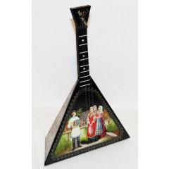 Музыкальный инструмент балалайка сувенирная большая