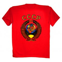 Футболки M ФСД 48 Герб СССР M красная