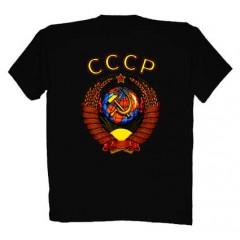 Футболки XL Герб СССР XL черная  ФСД 47
