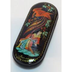 Шкатулка лаковая Жар-птица, ручная роспись