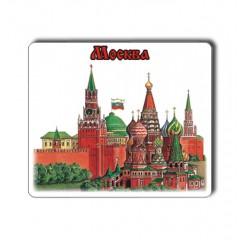 """Магнит прессованный 025-2-20 цветной малый """"Москва. Коллаж"""""""