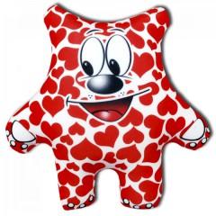 Подушка антистрессовая медведь сердечный
