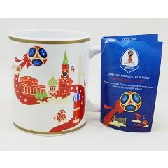 Чемпионат мира по футболу 2018 кружка, чемпионат мира по футболу, 2018