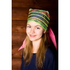 Русский народный костюм Головной убор Сорока СОР-00-05-00, 15 см