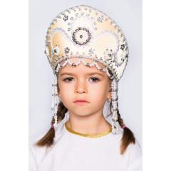 Русский народный костюм КОКОШНИКИ Кокошник Алина АЛИ-00-09-00, 11 см