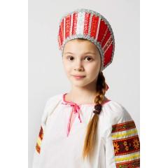 Русский народный костюм КОКОШНИКИ Кокошник Марья МИС 00-01-00, Высота 11 см