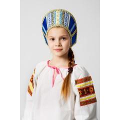 Русский народный костюм КОКОШНИКИ Кокошник Марья МИС-00-02-00, Высота 11 см
