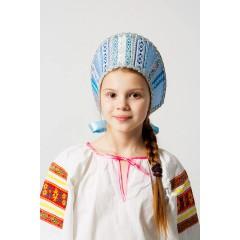 Русский народный костюм КОКОШНИКИ Кокошник Марья МИС-00-03-00, Высота 11 см