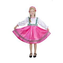 Русский народный костюм ПЛАТЬЯ СИЯ 00-05-00, рост 134-140