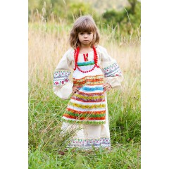 Русский народный костюм ФАРТУКИ разноцветный, 115 см