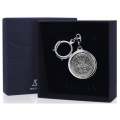 Подарок с гравировкой Художественные изделия из серебра 14010101, Серебряный брелок для ключей «Да-Нет»