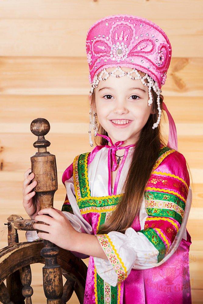 Русский народный костюм САРАФАНЫ Сарафан Алёнушка АЛН-00-05-00, р. 56-58