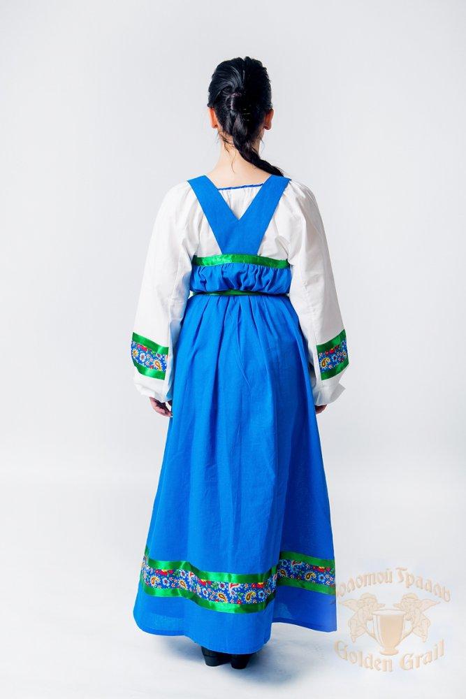 Русский народный костюм САРАФАНЫ Сарафан Арина АРИ 00-02-00, 52-54
