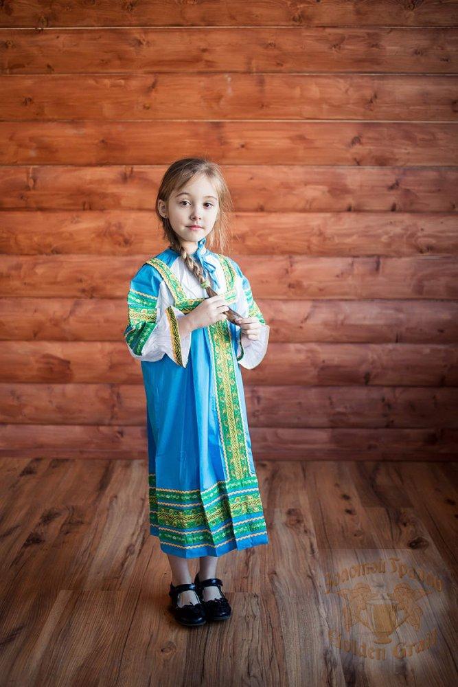 Русский народный костюм САРАФАНЫ Сарафан Дарья ДАР-00-03-00, рост 146-152