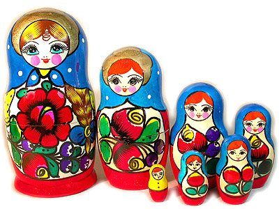 Матрешка Майдан майд. 7 мест