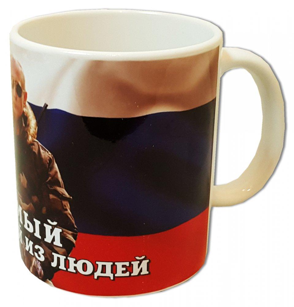 Кружка Путин В.В. - самый вежливый из людей