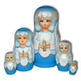 Матрешка Сергиево-Посадская 5 мест Ангел