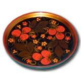 Хохлома сувенирная Тарелка панно 15 см