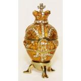 Копия Фаберже 114-0223-5 Яйцо пасхальное, малое, Королевское,...